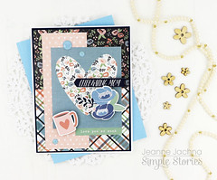 Celebrating Mom (akeptlife) Tags: mothersday simplestories mom card cardmaking papercrafting patternpaper moms day collection