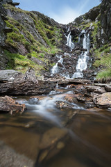 Rhosydd Mine Waterfall (chrisellis211) Tags: cwmorthin tanygrisiau waterfall water hike trek canon 80d canon80d slate slatemine slateindustry moelwynion wales northwales snowdonia rhosydd