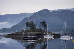 Plockton, Scotland (Glenn Pye) Tags: plockton scotland scottishcoastline highlands boats reflection