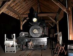 "Mid-Continent Railway Museum (Vinny Gragg) Tags: •template ""roadsideattraction"" ""roadsideattractions"" ""roadsidestatue"" ""roadsidegiants"" ""roadsidestatues"" ""roadsideoddities"" statues statue ""roadsideart"" giants train trains engine locomotive loco choochoo railroad railway northfreedomwisconsin northfreedom wisconsin midcontinentrailwaymuseum midcontinent museum goodmanlumbershay9 goodman lumber shay 9 steamer steamengine flash flashes foamer"