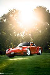 959 (MvdD Automotive Photography) Tags: porsche 959 red supercar sportscar exoticcar exclusivecar carphotography automotivephotography mvdd knokkeheist concoursdelegance classic 80s belgium europe