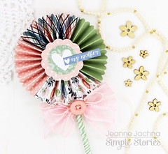 Pinwheel for Mom (akeptlife) Tags: simplestories pinwheel mom mothersday patternpaper papercrafting momsdaycollection