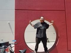 Famous Celebrity Joseph Carrillo Jumps Through Hoops to Promote Music Album