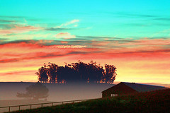 Early Morning from my house, Two-Rock, California (Vern Krutein) Tags: california usa npnd03090 tworock petaluma