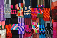 Rebozos Purepecha Ahuiran Michoacan Mexico (Teyacapan) Tags: markets mexico oaxaca rebozos textiles purepecha michoacan ahuiran weavings