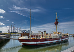 The year 2019 in Picture -199. dag (Poul Helt) Tags: horns rev museum esbjerg havn