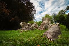 Pillars rubble Arrangement (THW-Berlin) Tags: parks gardens arrangement sony alpha6500 sel1018 glienicke trümmer rubble