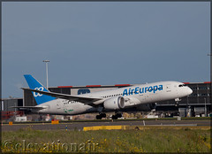 EC-MIG Boeing 787-8 Air Europa (elevationair ✈) Tags: ams eham amsterdam schiphol schipholairport thenetherlands holland europe sun sunny sunshine avgeek aviation airplane plane aircraft departure rotate boeing 787 788 boeing7878 dreamliner aireuropa ecmig mig