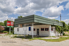 $3.59 a Gallon (Kool Cats Photography over 12 Million Views) Tags: traveloklahoma windows textures streetphotography sky sign photography outdoors outdoor oklahoma landscape canon24105mmf4lislens canon6d canon backroads architecture abandoned