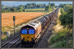 STEEL ON THE STRAIGHT (OLD GIT WITH A CAMERA) Tags: margam tc bsc 20mill margamtctohartlepoolbsc20 mill 66194