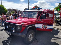 6440 - W Sussex FRS - X609 FPO - 64935455 (2) (Call the Cops 999) Tags: uk gb united kingdom great britain england 999 112 emergency service services vehicle vehicles haywards heath fire station open day west sussex saturday 6 july 2019