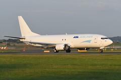 OE-IAZ Boeing B737-4Q8(SF) EGPH 16-07-19 (MarkP51) Tags: oeiaz boeing b7374q8sf b737 aslairlines 3v tay edinburgh airport edi egph scotland airliner aircraft airplane plane image markp51 nikon d500 nikon70200f4gvr sunshine sunny