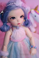 Pandora - Fairyland LTF Ante (Rukiya Shalidora) Tags: fairyland ltf littlefee ante doll bjd yosd alpaca wig alpaga handmade