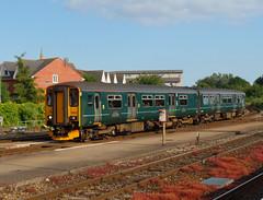 150247 Exeter St Davids (Marky7890) Tags: gwr 150247 class150 sprinter 2b84 exeterstdavids railway devon devonmainline train