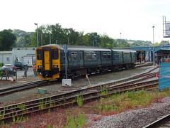 150249 Exeter TMD (Marky7890) Tags: gwr 150249 class150 sprinter exeterstdavids railway devon devonmainline train