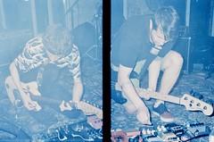 pree tone. offside2019. kyiv. (Yaroslav F.) Tags: київ pree tone band kyiv preetone shoegaze noise pop music psych rock diy yaroslav grob futymskyi halfframe half frame compact camera dyptych 35mm fog underground