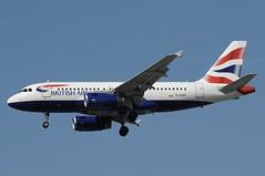 G-EUPL (LIAM J McMANUS - Manchester Airport Photostream) Tags: geupl britishairways british speedbird shuttle ba baw sh sht airbus a319 319 airbusa319 manchester man egcc