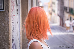 Haircolor by Louise (wip-hairport) Tags: portugal lisboa lisbon wiphairport wip hairport salon hair stylist cut haircut hairdresser hairlove hairstyle style fashion inspire original creative alternative artist professional newlook shape personalized color haircolor longhair shorthair newhair newstyle hairoftheday orangehair orange orangehaircolor orangehaircut