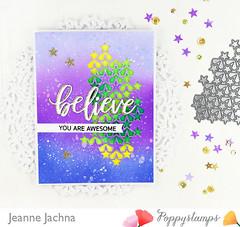 Believe (akeptlife) Tags: poppystamps card cardmaking craftdie stamping stamp papercrafting word worddie believefreshscript donutwhatiddo believe allstarcollage collage