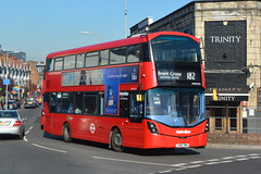LK66 DWN (VWH2233) Metroline London (hotspur_star) Tags: londontransport londonbuses londonbus londonbuses2018 wrightbus volvoeclipsegemini tfl transportforlondon hybridbus hybridtechnology busscene2018 doubledeck metrolinelondon lk66dwn vwh2233 182