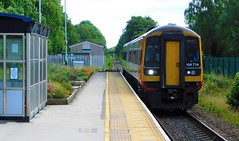 158774 - Duffield, Derbyshire (The Walsall Spotter) Tags: station diesel derbyshire railway express duffield sprinter britishrailways networkrail class158 multipleunit eastmidlandstrains 158774