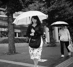 Focused on the rain (Bill Morgan) Tags: fujifilm fuji xpro2 23mm f2 bw jpeg acros alienskin exposurex4
