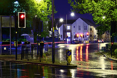 The High Street, Bloxwich 27/04/2019 (Gary S. Crutchley) Tags: uk great britain england united kingdom urban town townscape walsall walsallflickr walsallweb black country blackcountry staffordshire staffs west midlands westmidlands nikon d800 history heritage local night shot nightshot nightphoto nightphotograph image nightimage nightscape time after dark long exposure evening travel street slow shutter raw rain