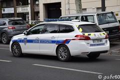 Police Muncipale de Chantilly (rescue3000) Tags: peugeot 308 sw police municipale chantilly 60 municipal véhicule patrouille unité cynophile patrol vehicle dog unit k9 durisotti voiture emergency break canine brigade
