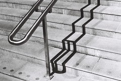Rail | Analog | 35mm | No edit (backmango) Tags: minimalhunter minimalistic minimal minolta ishootfilm analogue analog film filmisnotdead monochrome picoftheday photooftheday bestoftheday steps stairs rail blackandwhite bw stockholm solna bnwsweden bnw