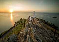 Golden Start Point (taylorri40) Tags: devon lighthouse light southdevon nikond810 samyang samyang14mm sunrise