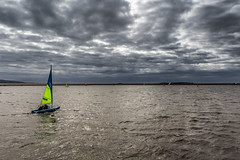 West Kirby (Philip Brookes) Tags: yacht boat sail sky cloud lake water sailing marine westkirby wirral merseyside england britain coast shore