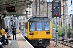 Departing Pacer (R~P~M) Tags: train railway dmu multipleunit pacer 142 northern newcastle tynewear england uk unitedkingdom greatbritain