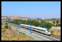Oaris Toledo (--- juanito ---) Tags: renfe caf oaris 105 001 ave 300 prototipo adif toledo la sagra españa rail railway highspeed madrid spain