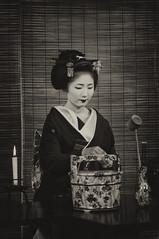 Miyako Tea (小川 Ogawasan) Tags: japan japon giappone japani kyoto kioto maiko geiko tradition japanese tea kimono