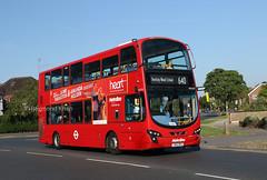 VW1379 LK62DPU (Metroline) West Harrow 16.7.19 (Rays Bus Photographs) Tags: metroline vw1379 lk62dpu 640 59244 volvob9tl wrightbuseclipsegemini2