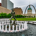 Splashing Through St Louis