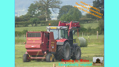 Two (TheFarmer123OnYouTube-photos) Tags: masseyferguson mf masseyferguson7000 mf7000 masseyferguson7720 mf7720 newholland nh newhollandbaler nhbaler newhollandroundbaler nhroundbaler newholland644baler nh644baler baling balinggrass grass grass2019 silage silage2019 farming farmingphotography agriculture
