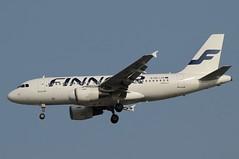 OH-LVK (LIAM J McMANUS - Manchester Airport Photostream) Tags: ohlvk finnair fin ay airbus a319 319 airbusa319 manchester man egcc