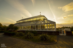 The Isla Gladstone Conservatory, Stanley Park, Liverpool (jonathancoombes) Tags: isla gladstone conservatory liverpool victorian sunset merseyside explore stanleypark