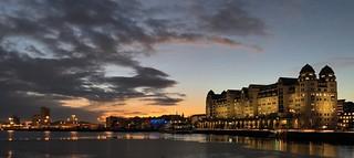 Oslo evening scene