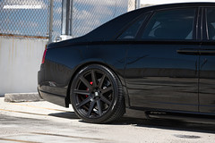 Rolls Royce Phantom with HRE TR109 in Satin Black (HRE Wheels) Tags: rolls royce phantom with hre tr109 satin black