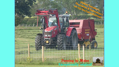 One (TheFarmer123OnYouTube-photos) Tags: masseyferguson mf masseyferguson7000 mf7000 masseyferguson7720 mf7720 newholland nh newhollandbaler nhbaler newhollandroundbaler nhroundbaler newholland644baler nh644baler baling balinggrass grass grass2019 silage silage2019 farming farmingphotography agriculture