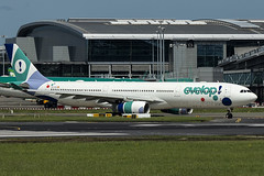 EC-LXA | Evelop Airlines | Airbus A330-343 | CN 670 | Built 2005 | DUB/EIDW 02/06/2019 | ex EC-JHP, OE-ICB | Leased in by Norwegian as cover for grounded MAXs (Mick Planespotter) Tags: aircraft airport 2019 dublinairport collinstown nik sharpenerpro3 plane planespotter airplane aeroplane spotter a330 eclxa evelop airlines airbus a330343 670 2005 dub eidw 02062019 ecjhp oeicb