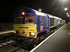 Photo of 66051 At Greenford on 6Z50