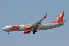 G-JZBL (LIAM J McMANUS - Manchester Airport Photostream) Tags: gjzbl jet2com jet2 channex exs ls friendlylowfares jet2malaga boeing b737 b738 738 b73h 73h boeing737 boeing737800 manchester man egcc