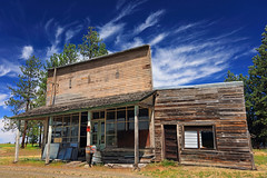 Friendly Service (Ian Sane) Tags: ian sane images friendlyservice friend oregon ghost town dufur wasco county general store post office abandoned old building railroad line canon eos 5ds r camera ef1740mm f4l usm lens