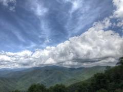 Mile High Overlook (esywlkr) Tags: landscape sky clouds mountains nc northcarolina brp blueridgeparkway