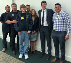 AB5 lobby day with Henry Stern