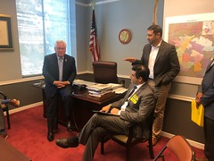 Senator Bob Archuleta & Jason AB5 lobby