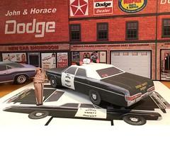 Papercraft Dodge Safety Sheriff 1969 Dodge Polara (official inspection station) Tags: dodge a100 plymouth polara dodgesafetysheriff joehiggins mopar police